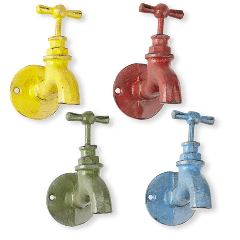 Colourful Garden Tap Hooks