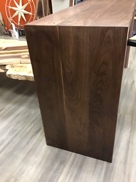 Walnut Waterfall Sideboard/Desk