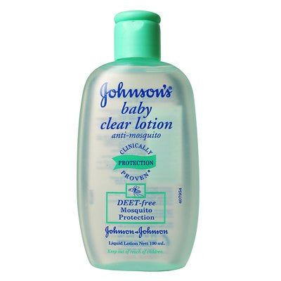 Johnsons Baby Clear Lotion - Anti-Mosquito 100ml (Pack of 3)