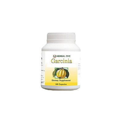 Garcinia Cambogia Herbal One 100% Pure  62.1% HCA - 100 Capsules