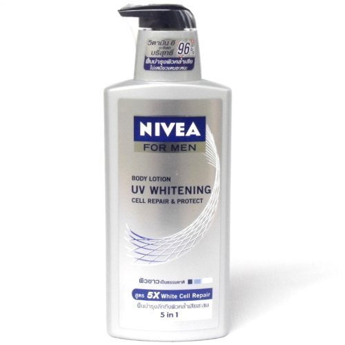 Nivea For Men UV Whitening Cell Repair and Protect Lotion 5 in 1 400ml