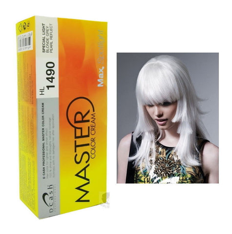 Dcash Master HL1490 - Light Blonde Grey Pearl Reflect Hair Colour