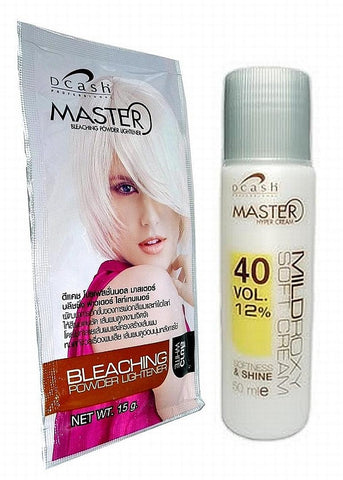 Dcash Master - White Hair Bleaching Lightening Powder - Hair Dye Kit