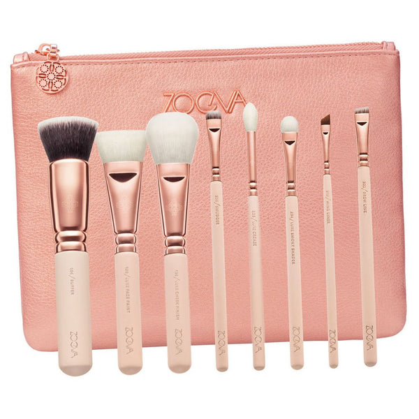 ZOEVA Luxury Rose Golden Brush Set - Volume 2