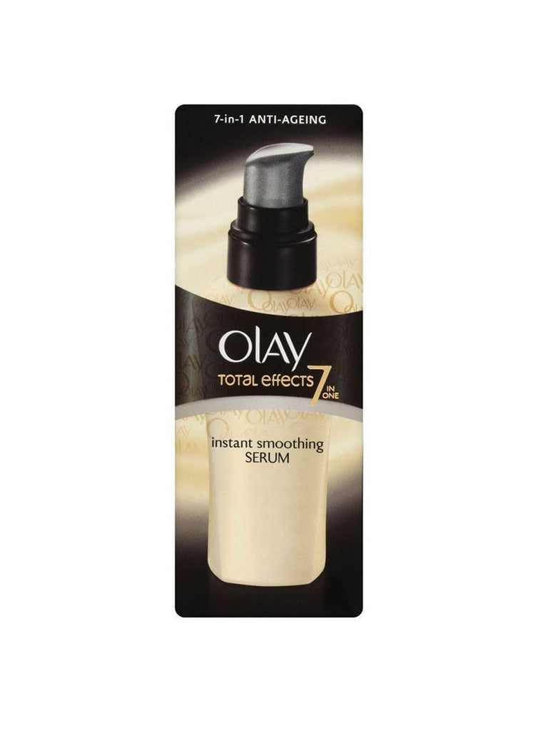 Olay Total Effects Anti-Ageing Instant Smoothing Serum - 50ml
