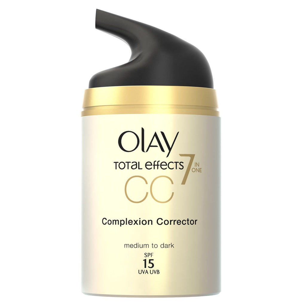 Olay Cc Cream - Total Effects Daily Moisturizer - 7 In 1 Anti Ageing