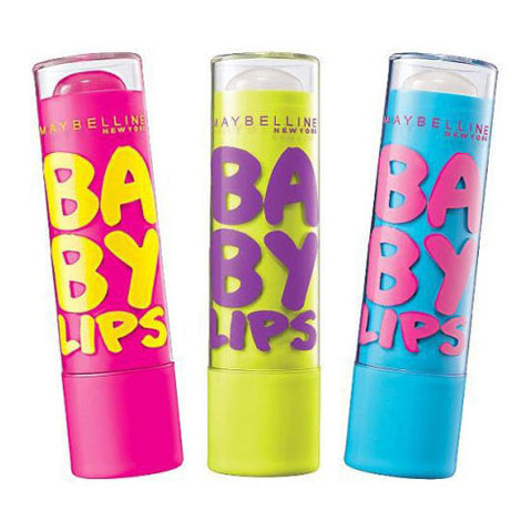 Maybelline Baby Lips SPF 20 Lip Balm – 3 Assorted Varieties