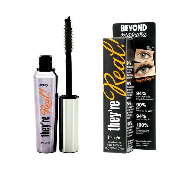 Benefit Beyond Mascara - They´re Real Black 8.5 g