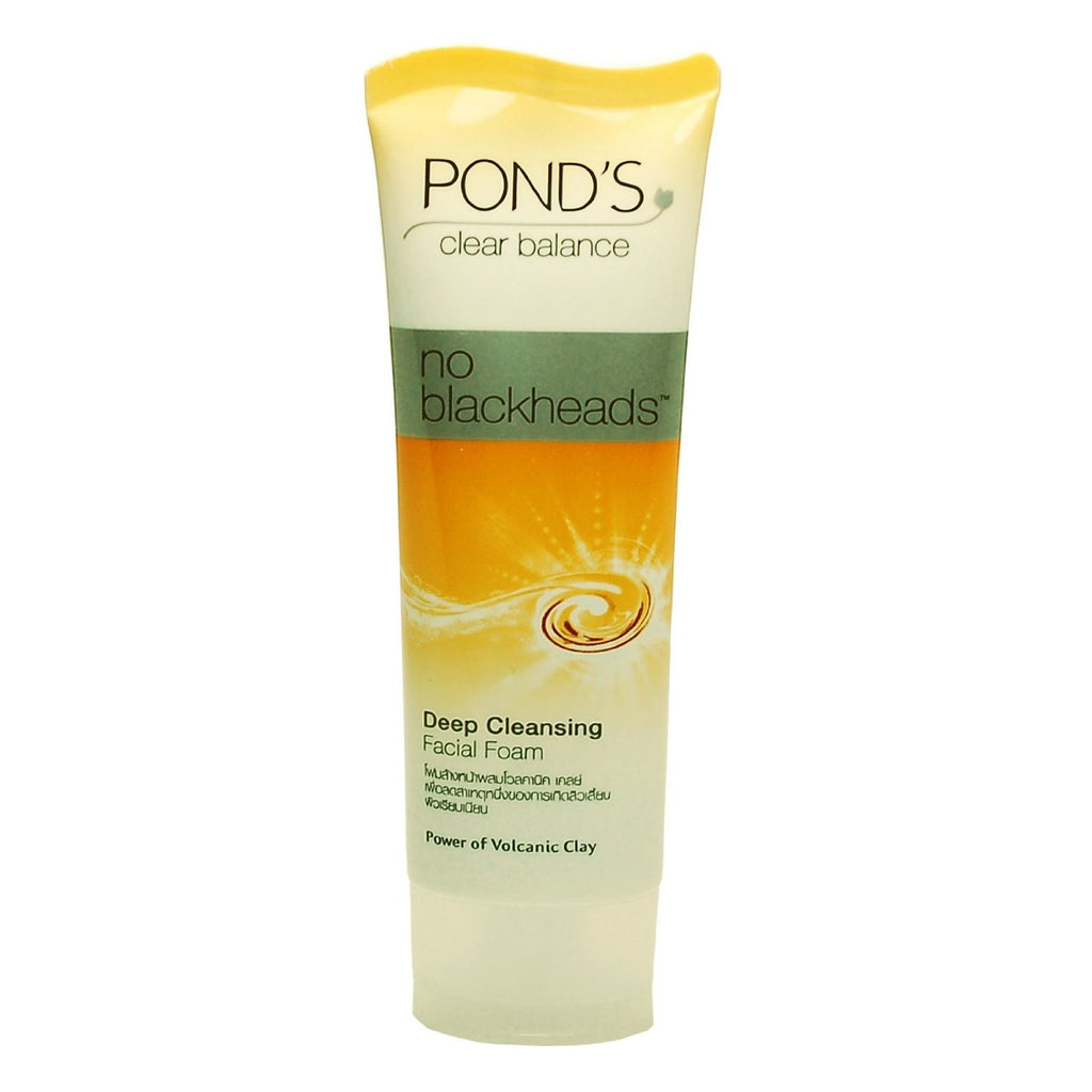 Ponds Clear Balance -  Deep Cleansing Facial Foam - No Blackheads