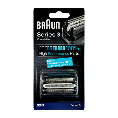 Genuine Braun Replacement Foil and Cutter for Series 3