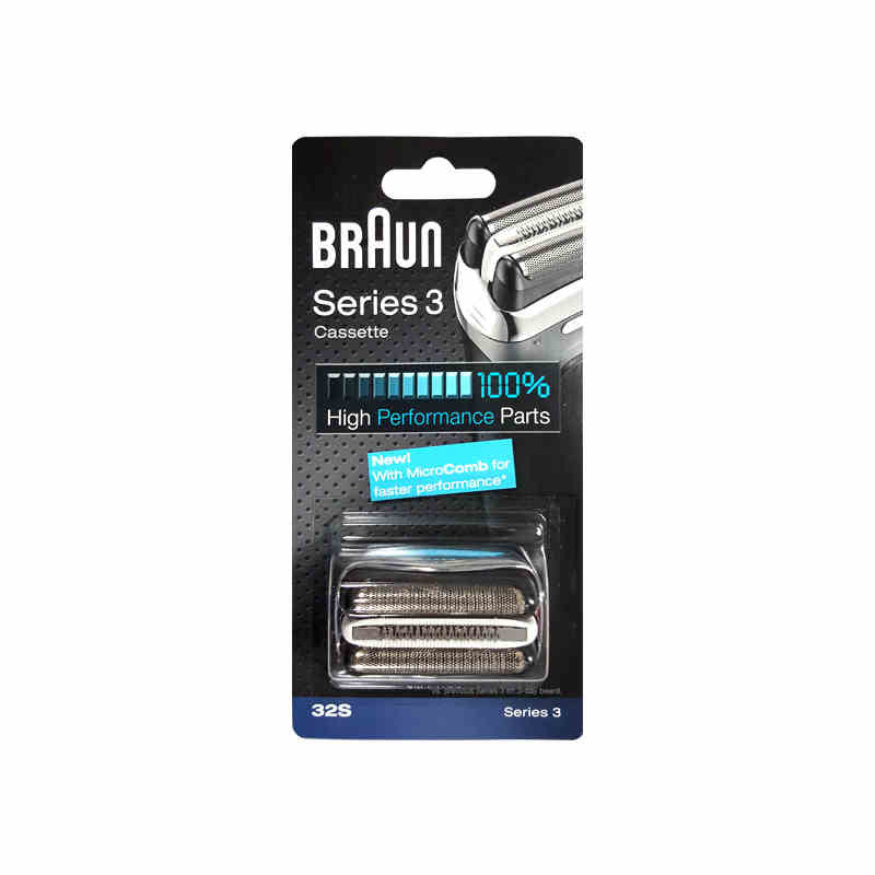 Braun 32S Series 3 Shaver Foil and Cutter Head Replacement