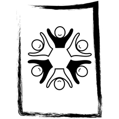 Equity, diversity and inclusion icon