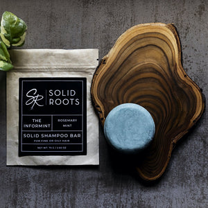 Solid Shampoo for Fine or Oily Hair