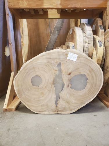 chime tree round slab