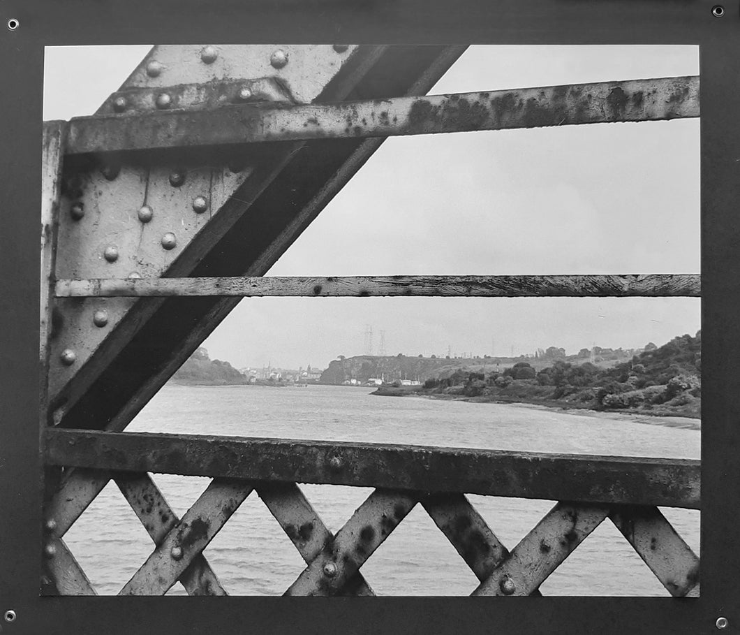 Red Iron Bridge no 9 ~ limited edition mounted b&w prints