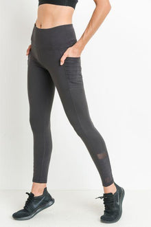 Highwaist Moto Leggings with Pockets