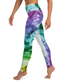 Colorful Smoke Leggings