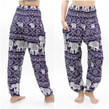 Purple Boho Pants