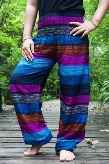 Striped Boho Pants