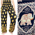 Gold ELEPHANT Boho Pants