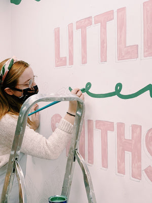 Little Green Smiths Mural | 2020