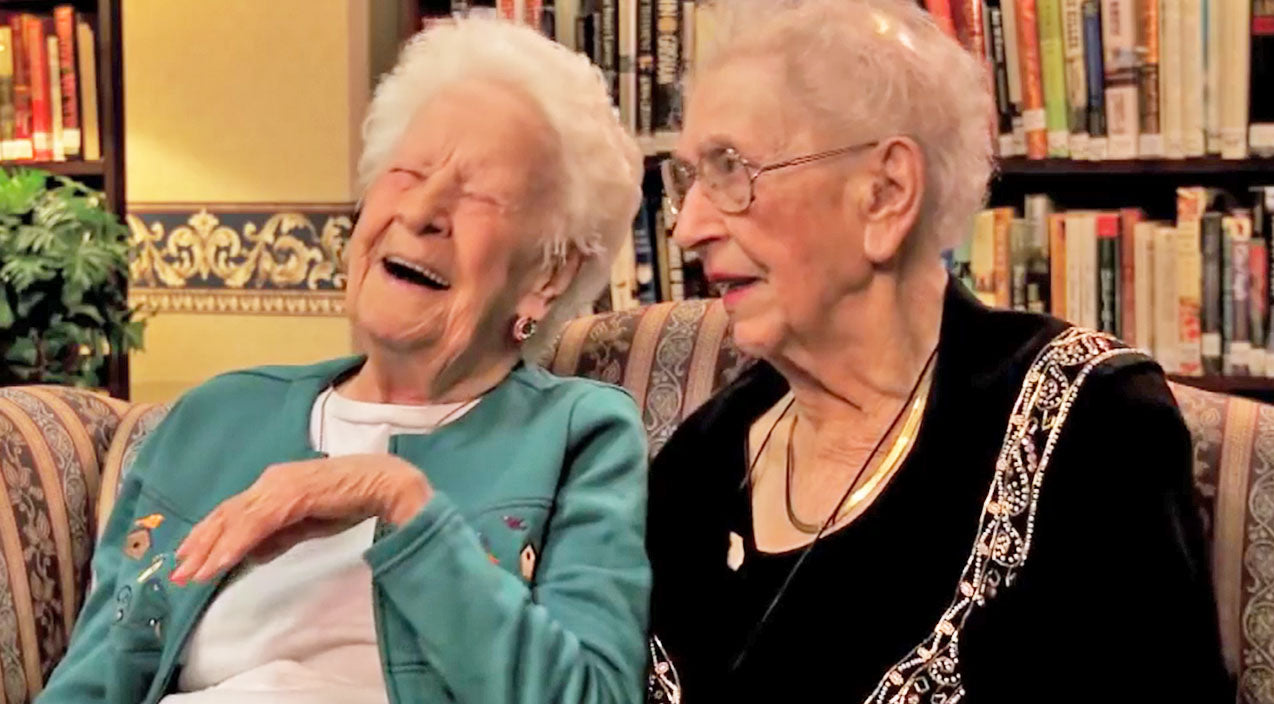 Best friends Songs | 100-Year-Old Best Friends Give Opinions On Today's Pop Culture... And It Is Hysterical! | Country Music Videos