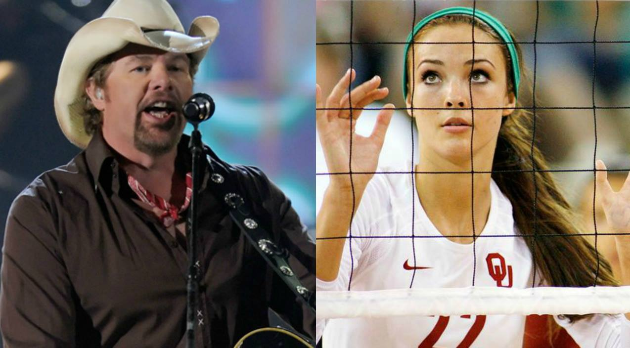 Toby keith Songs | University Of Oklahoma Volleyball Player Dreams Of Singing With Toby Keith | Country Music Videos