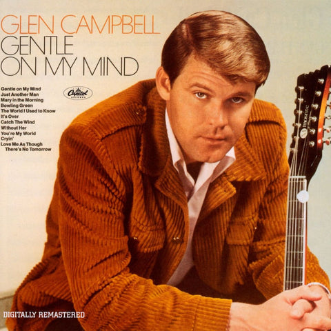 Glen campbell Songs | 'Gentle On My Mind' Album Cover | Country Music Videos