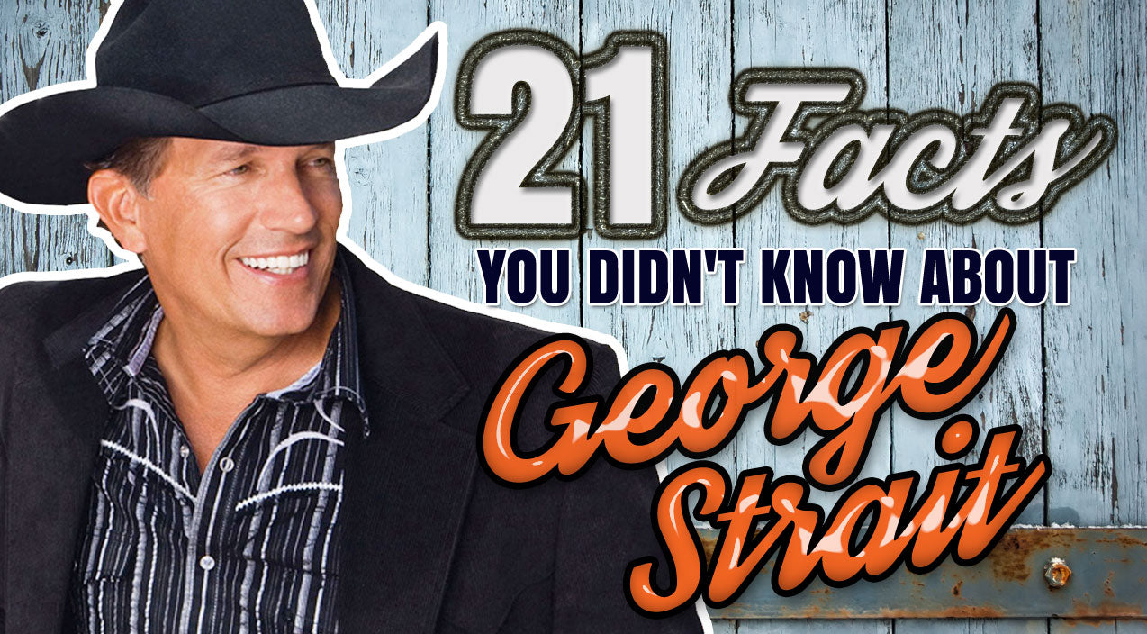 George strait Songs | 21 Facts You Didn't Know About George Strait | Country Music Videos