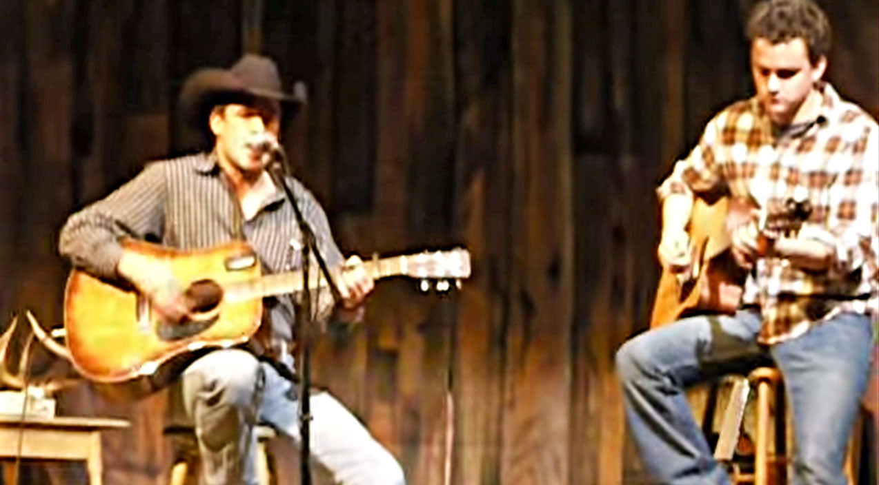 Montgomery gentry Songs   2 Cowboys Give Killer Cover Of 'Back When I Knew It All'   Country Music Videos