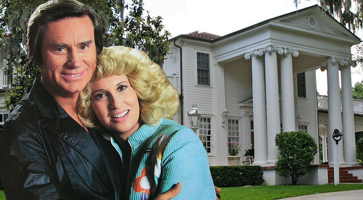 Tammy wynette Songs | RARE: Look Inside George & Tammy's Home That Inspired 'Two Story House' | Country Music Videos