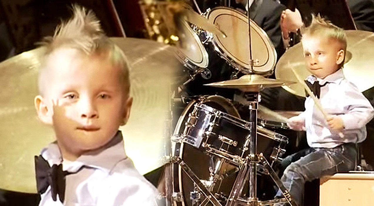 Kids Songs | 3-Year-Old Drumming Prodigy Steals The Show With Jaw-Dropping Performance! (VIDEO) | Country Music Videos