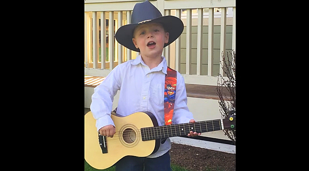 George strait Songs | 3-Year-Old 'Troubadour' Sings Adorable Medley Of George Strait Hits | Country Music Videos