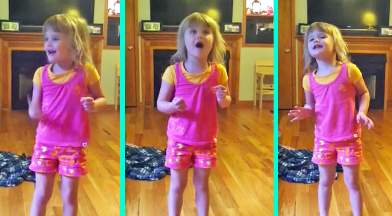 Lynyrd skynyrd Songs | 4-Year-Old Sings Most Enthusiastic Version Of 'Gimme Three Steps' You've Ever Heard | Country Music Videos