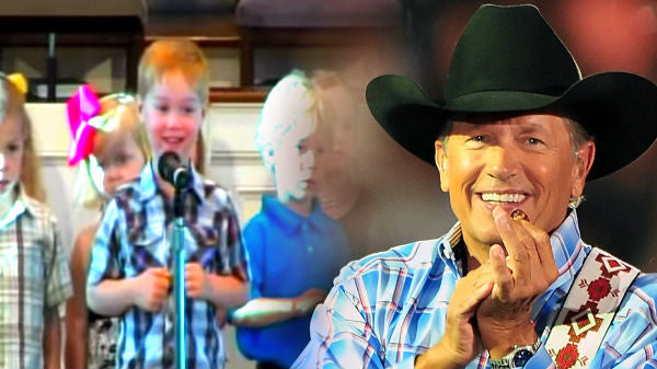 George strait Songs | 4 Year Old Livens Up His Church Recital With Some George Strait, And It's The Cutest Thing Ever! | Country Music Videos