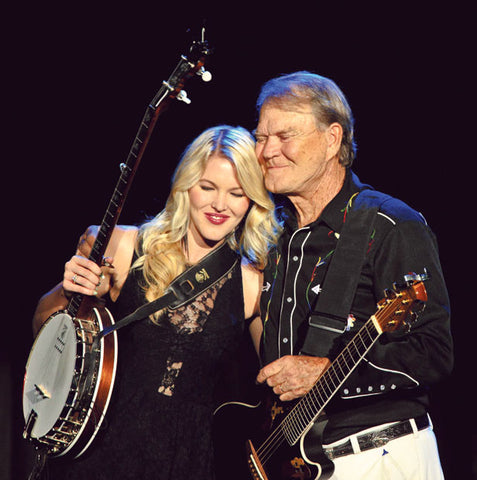 Glen campbell Songs | With Daughter Ashley On The 'Goodbye Tour' | Country Music Videos