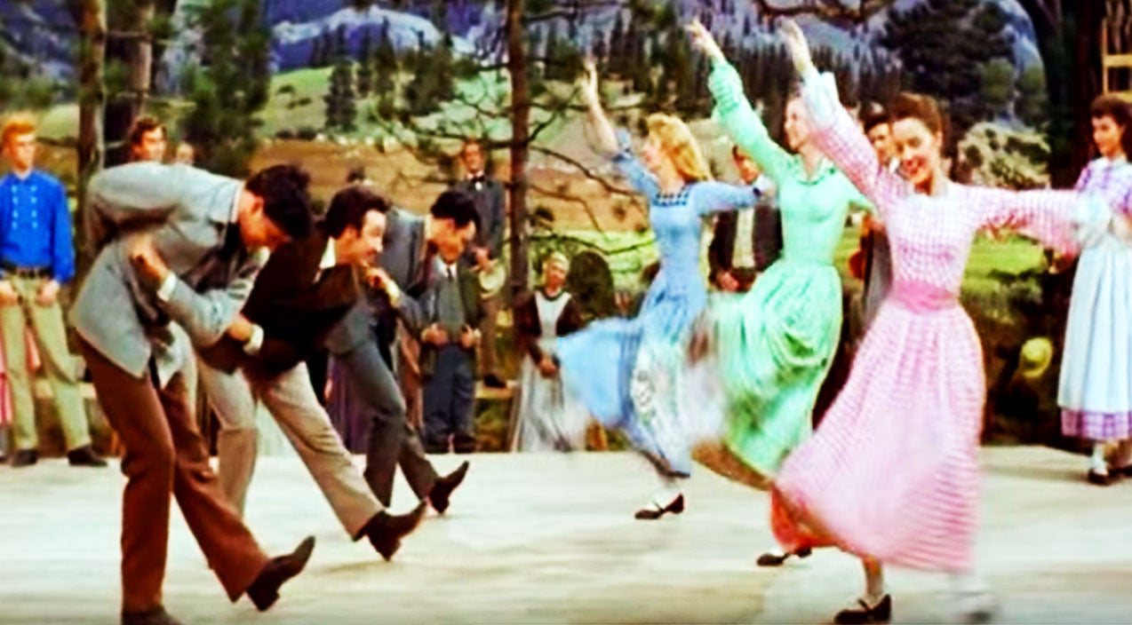 Relive The Olden Days With This Iconic '7 Brides For 7 Brothers' Barn Dance | Country Music Videos