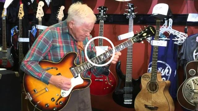 how to play rebel yell solo on guitar