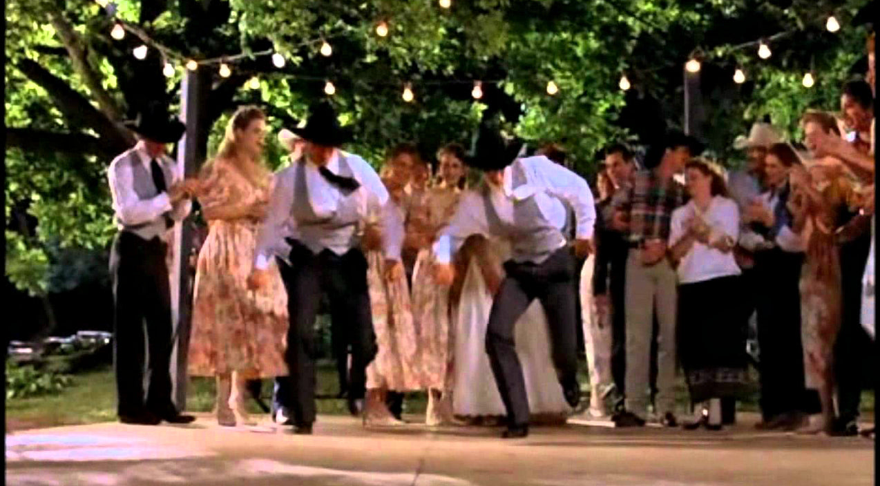 Vince gill Songs | Iconic '8 Seconds' Wedding Line Dance Will Make You Want To Boogie | Country Music Videos