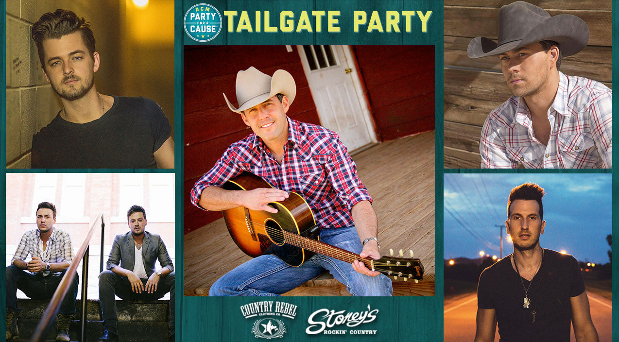 William michael morgan Songs | Party With Your Favorite Country Stars At The ACM's Massive Vegas Tailgate | Country Music Videos