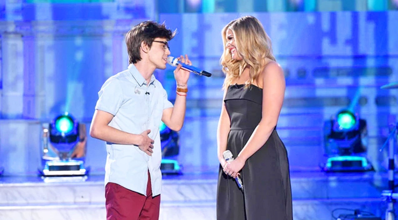 Lee ann womack Songs   Lauren Alaina Joins American Idol Contestant For Loving Duet Of 'I Hope You Dance'   Country Music Videos