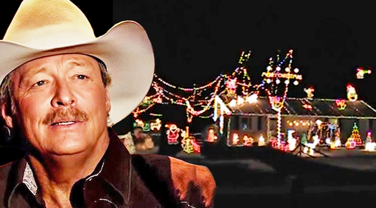 Modern country Songs | Watch Christmas Lights Dance Along With Alan Jackson's 'Let It Be Christmas' | Country Music Videos