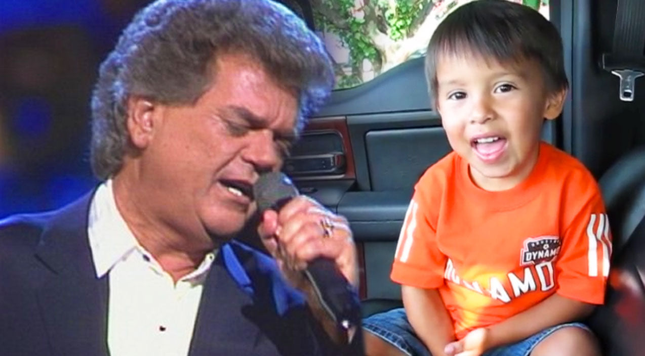 Conway twitty Songs | Adorable 3-Year-Old Covers Conway Twitty's