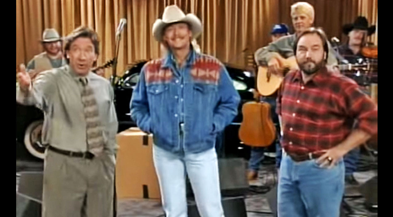 Alan jackson Songs | Alan Jackson Stuns With Surprise Appearance On '90s Sitcom 'Home Improvement' | Country Music Videos