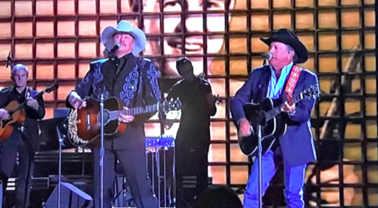 George strait Songs | George Strait And Alan Jackson Team Up For Nostalgic CMA Performance | Country Music Videos