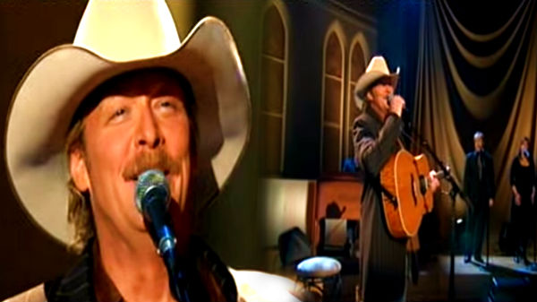 Alan jackson Songs | Alan Jackson - Leaning On The Everlasting Arms | Country Music Videos