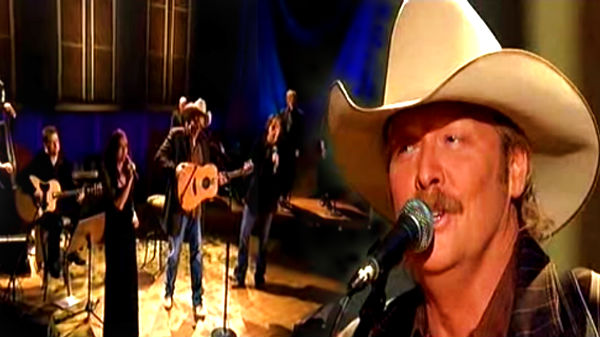 Alan jackson Songs | Alan Jackson - 'Tis So Sweet To Trust In Jesus | Country Music Videos