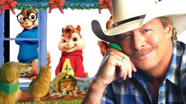 Alan jackson Songs | Alan Jackson and the Chipmunks - Santa's Gonna Come In A Pickup Truck (VIDEO) | Country Music Videos