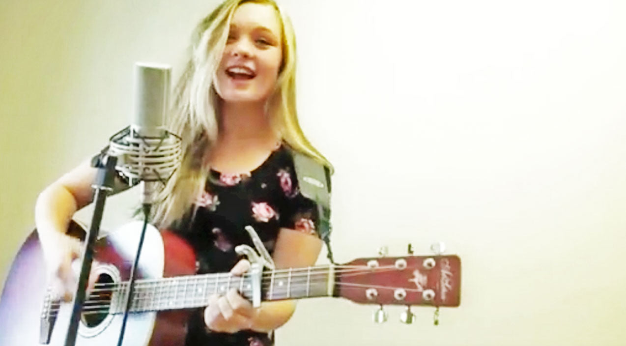 Olivia rose Songs | 16-Year-Old Country Singer Is 'All About That Twang' In Cute Parody Video | Country Music Videos