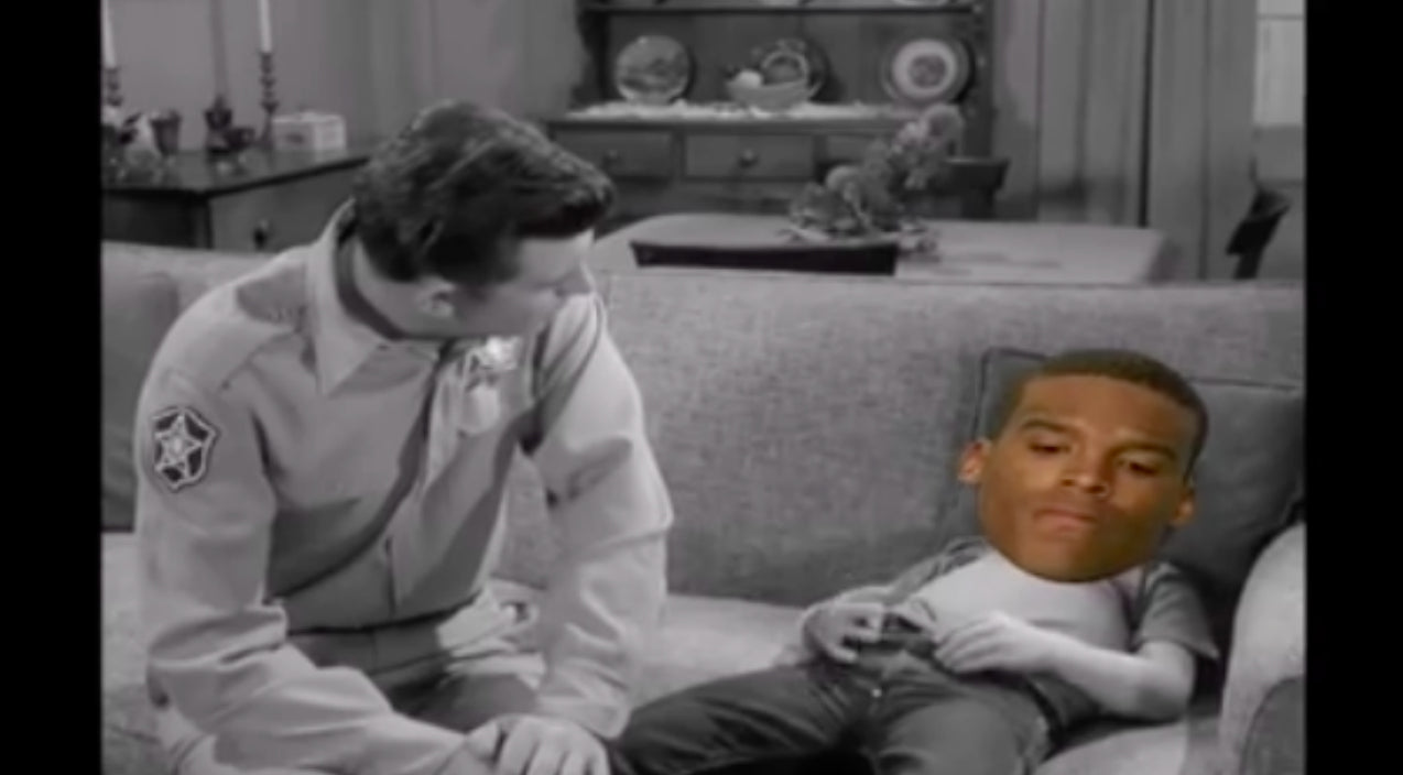 Andy griffith Songs | Hilarious Video Shows Andy Griffith Giving Cam Newton A Lesson On Losing | Country Music Videos